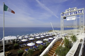 PLAGE BEAU RIVAGE - NICE - 06 ALPES MARITIMES FRANCE