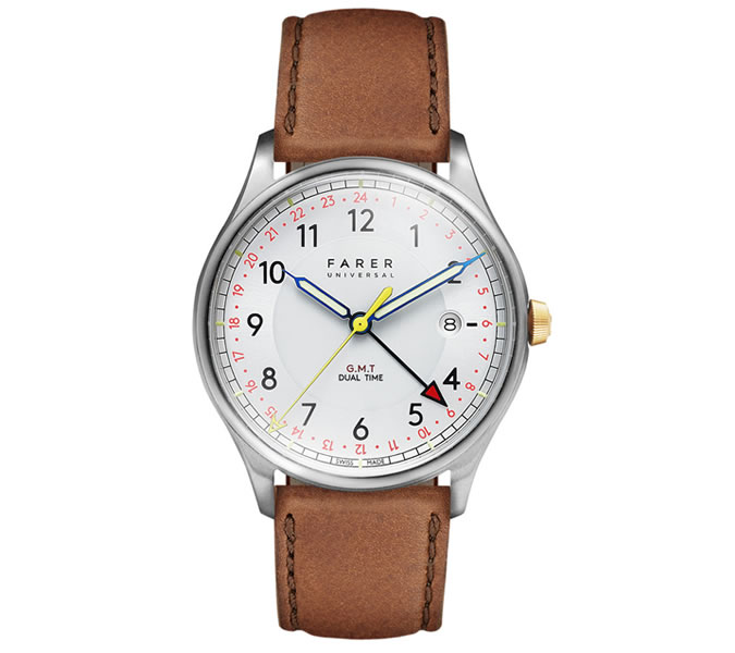 Travel watches by Farer