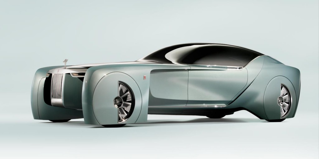 Rolls Royce unveils the 103EX, their futuristic driverless car