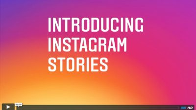Instagram Stories, a great tool for entertainment and brand engagement events